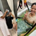 入浴介助の演習を行いました!~介護福祉コース1年生~