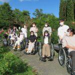 車いすで徳島中央公園に行きました!~歯科衛生士コース1年~